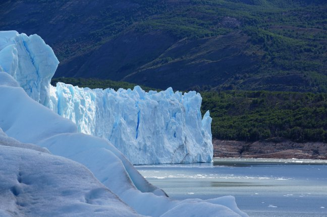 Ademloos naar ijs kijken