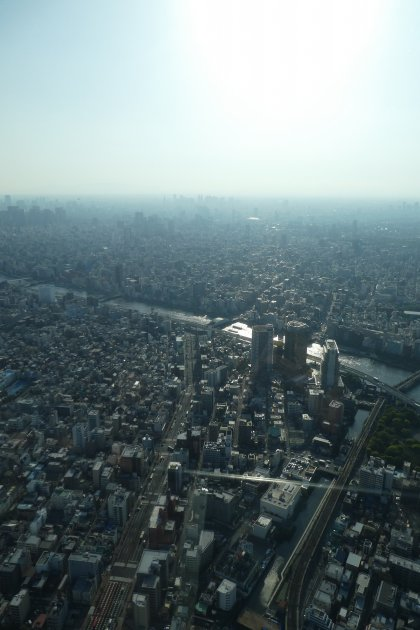 Another view from the Sky Tree
