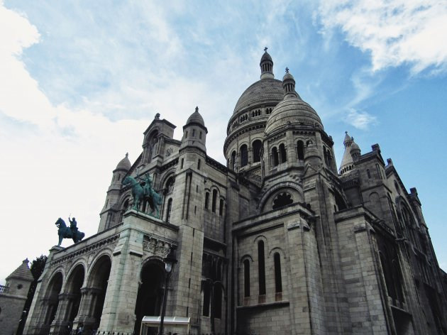 De indrukwekkende Sacre Coeur