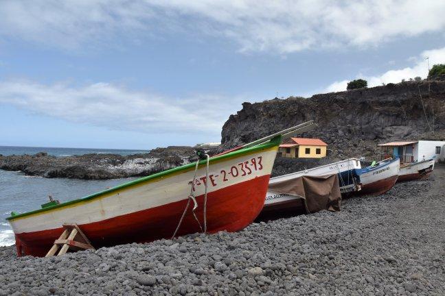 Vissershaventje in Fuencaliente de La Palma