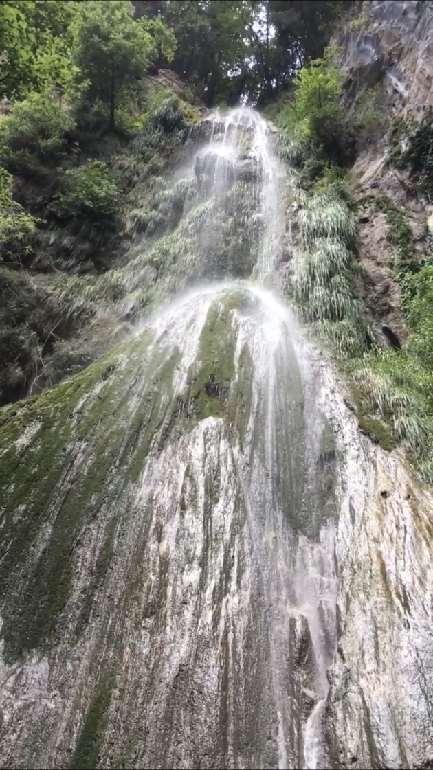 Regenwoud achter Amalfi
