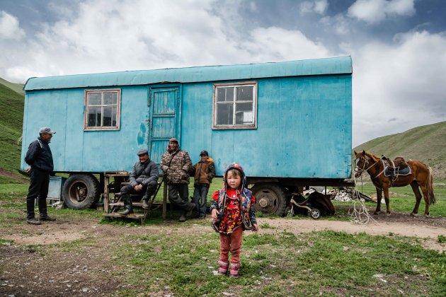 Op bezoek bij locals in Kyrgyzstan
