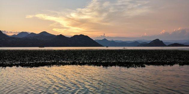 Sunset boottocht skadar lake