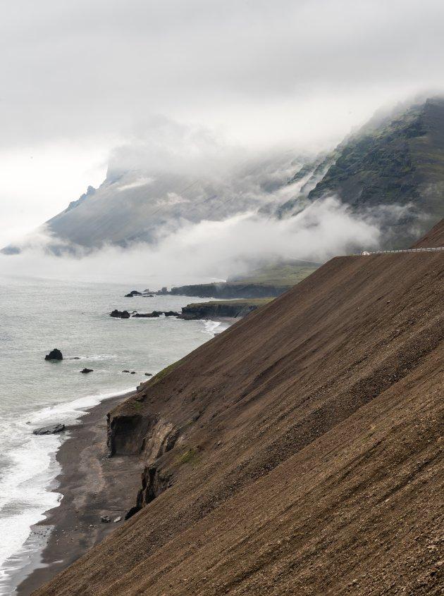 De Oostelijke IJslandse zeekust