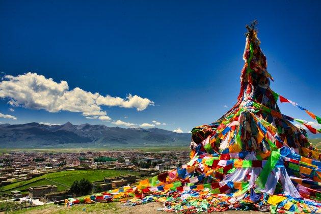 Op zoek naar de Tibetaanse cultuur zonder gids in Litang.