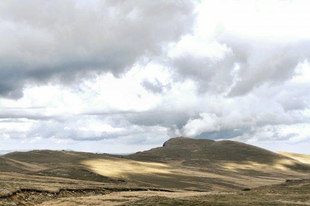 Landschap bij Busteni