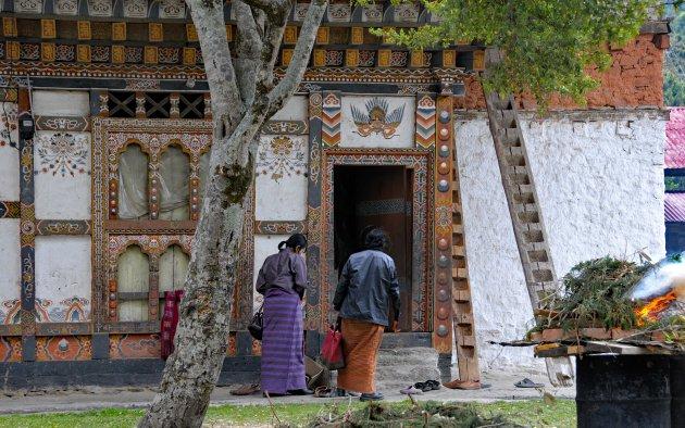 Het traditionele leven in Bhutan
