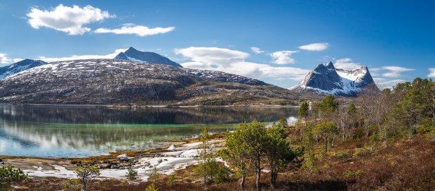 Opklaringen boven het Tysfjord