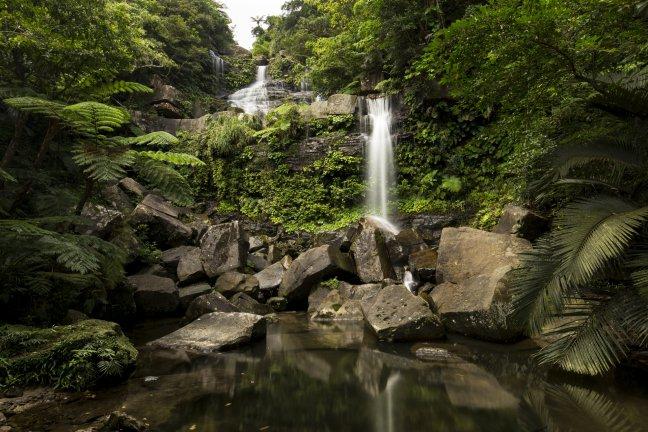 Upper Geta Falls op Iriomote