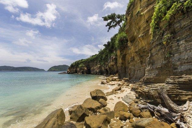 Geheim strand op Iriomote
