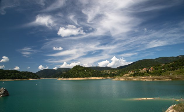 Het meer van Zaovine