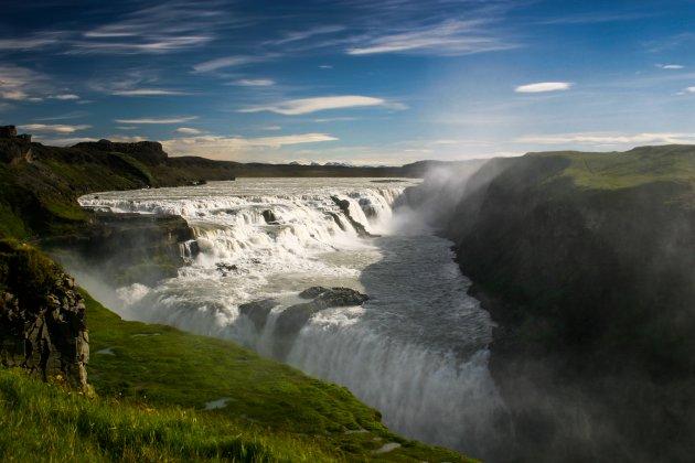 De watervallen van IJsland