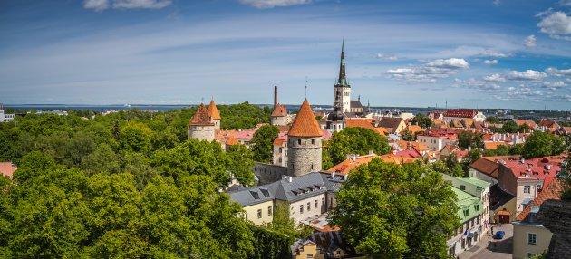 Tallin, een mooie oude stad