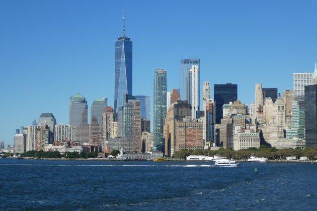 Sky-line  of New York
