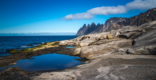 Zo blauw kan Noorwegen zijn.