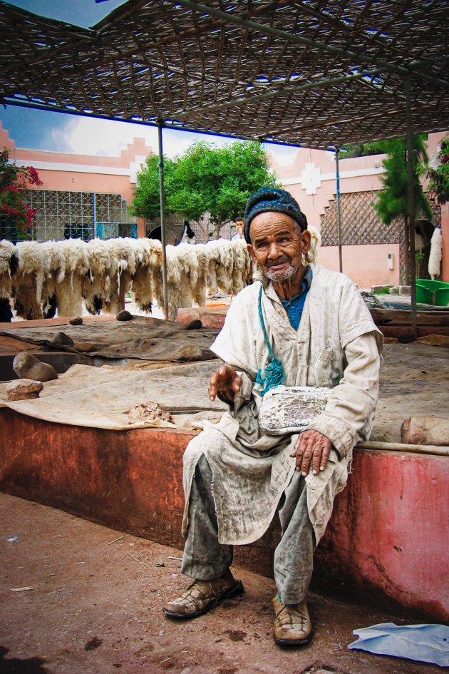 excursie leerlooierij Fez Marokko