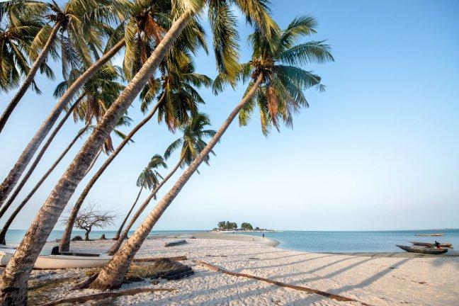 Ongerepte eilanden 'Turtle Islands' in Sierra Leone