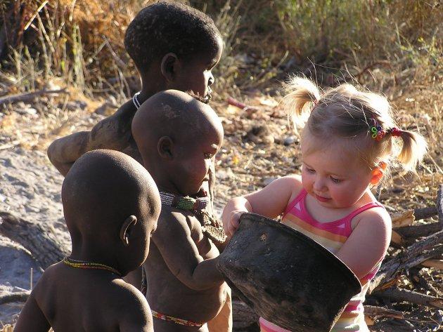 Onze kleine Himba