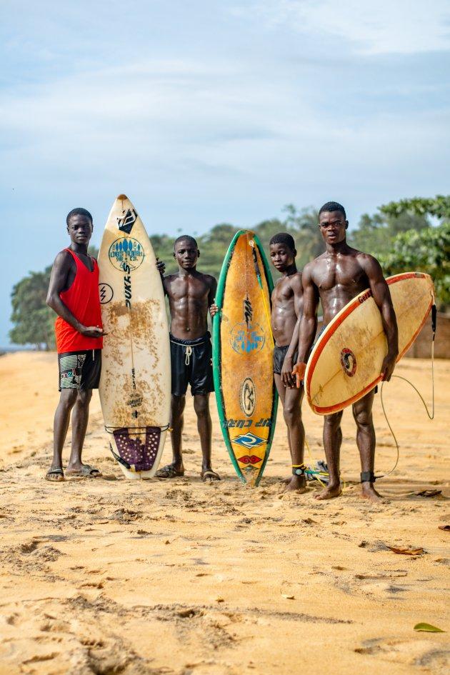 Surfen in Liberia