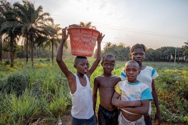 Sierra Leone platteland