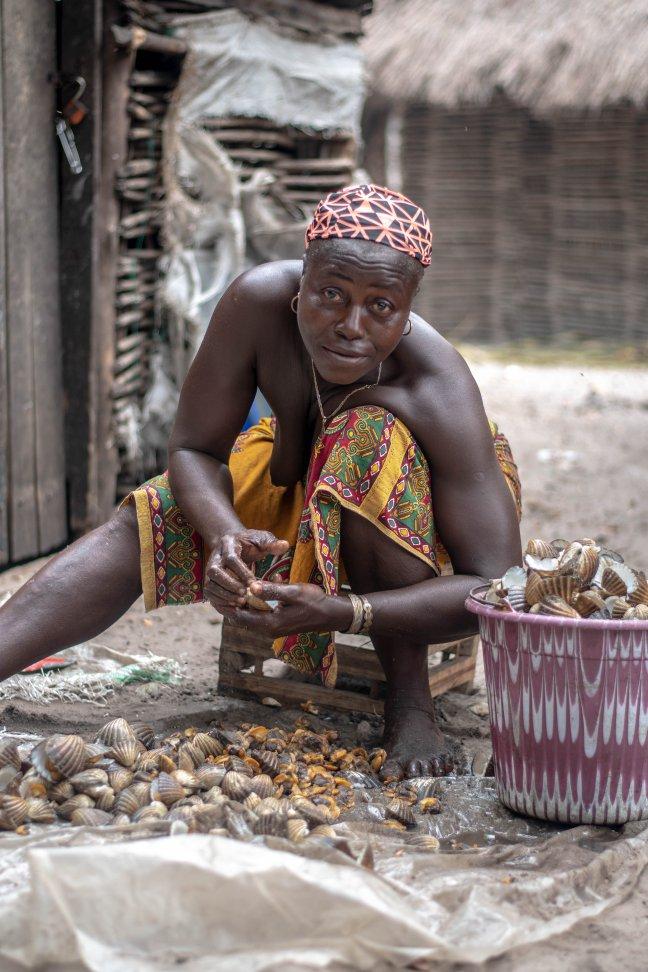 Afgelegen eilandengroep Sierra Leone