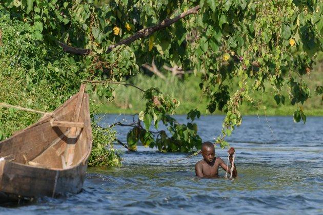 Fishing in Uganda