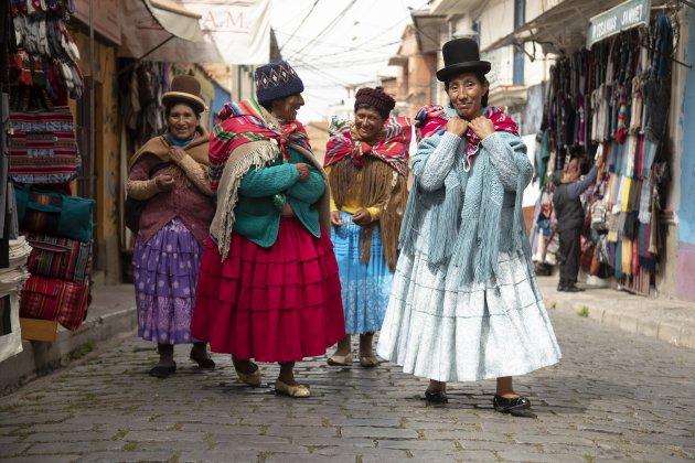 Locals La Paz Bolivia