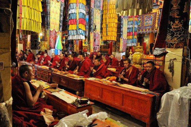 Reciterende monniken
