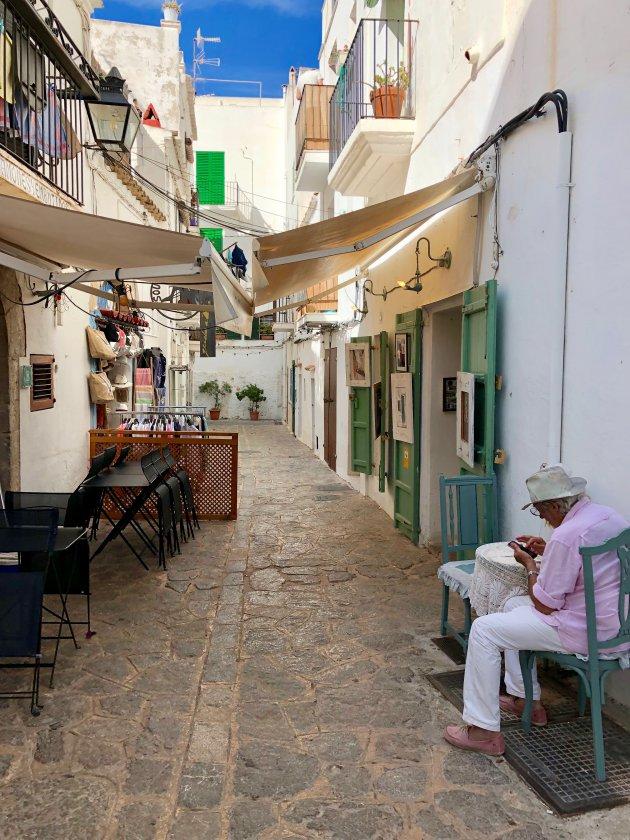 Struinen door Ibiza stad