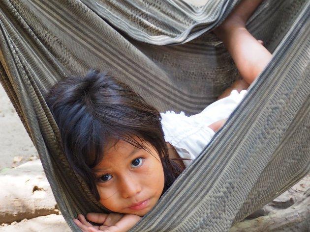 Inheems volk in het Tyrona National Park