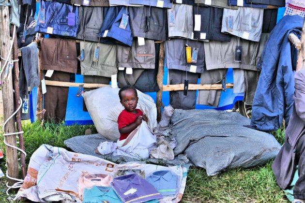 Markt in Kisoro