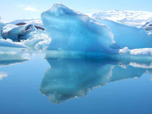 Het gletsjermeer Jökulsárlón