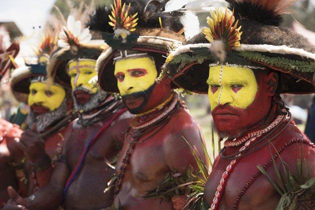 Papua New Guinea Enga Festival