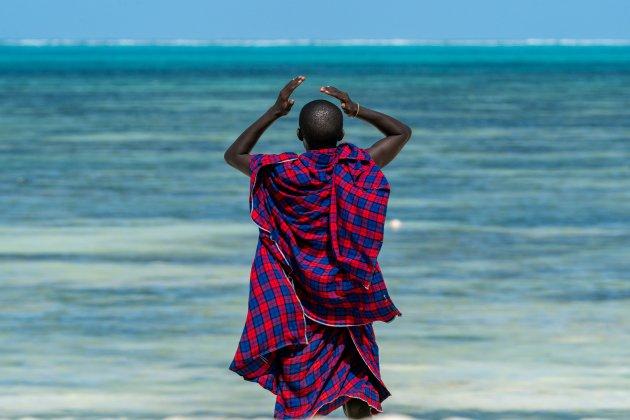 Een ijdele Masai