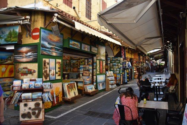 Souvenir shops in Rhodos stad