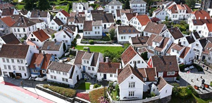 Oud en nieuw in Stavanger