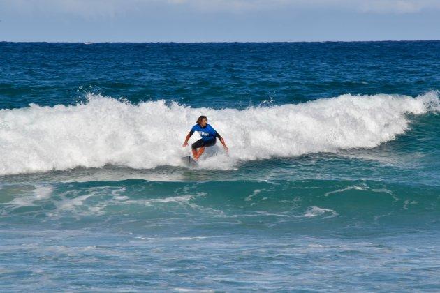 Stoere surfers op Bondi Beach