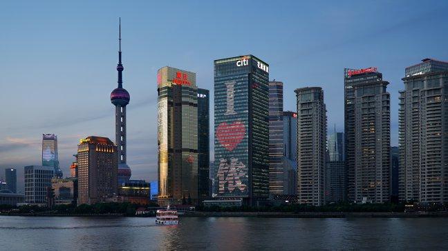 Mis Pudong niet in Shanghai