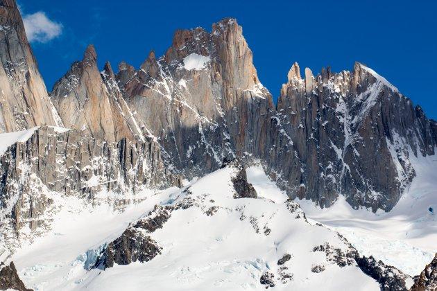 De granieten pieken van Patagonië