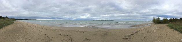 The Sand Dunes of Southampton; Ontario; Canada