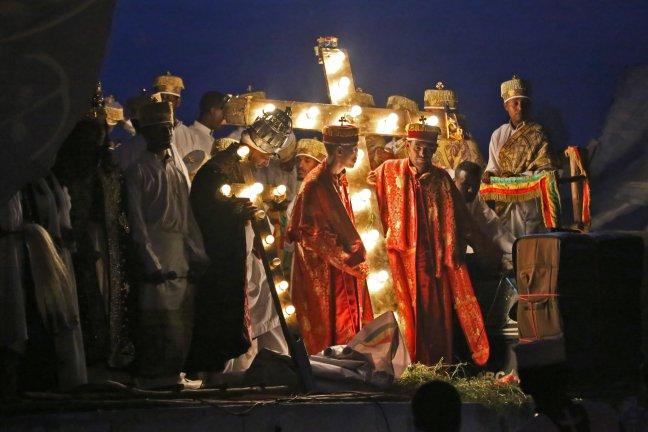Meskel festival in Ethiopië