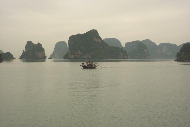 Boottochtje Halong Bay