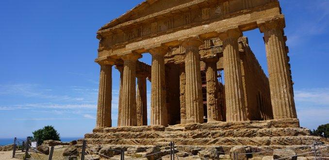 Cultuur snuiven op Sicilië