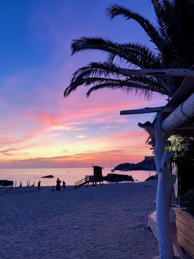 Zonsondergang op Ibiza