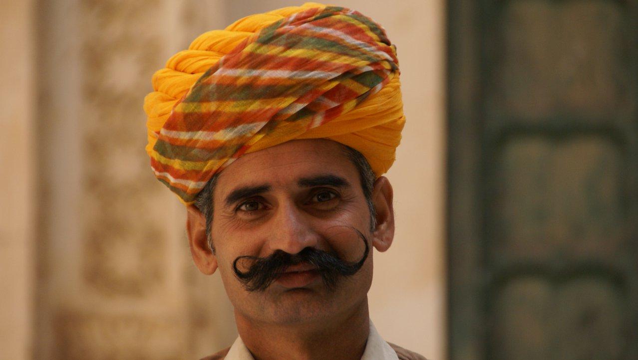 Man uit Rajasthan