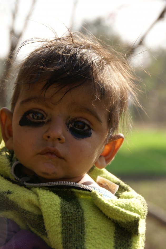Baby in India