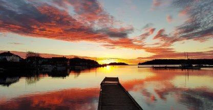 #mynorwaystories  | Zonsopkomst in Lillesand, Noorwegen