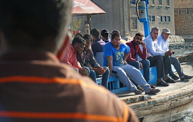 Dubai Creek workers