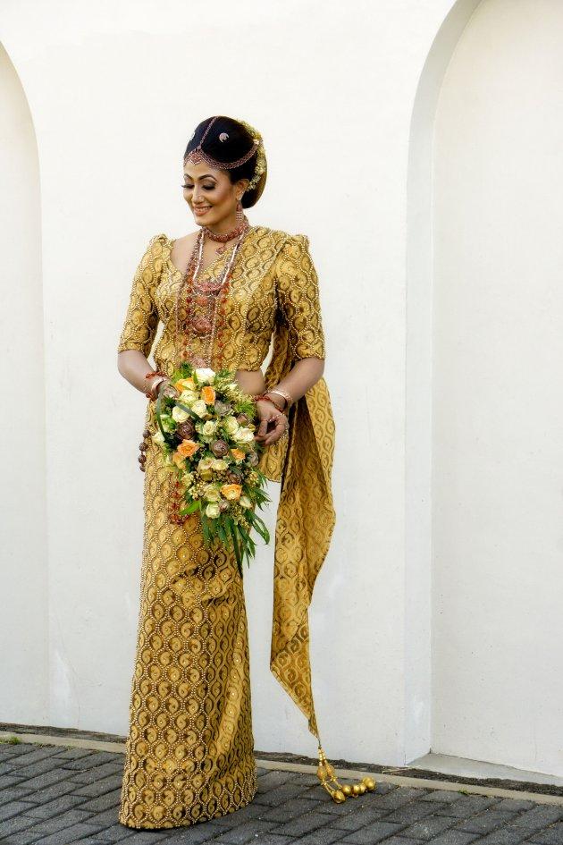 Bruid in Galle