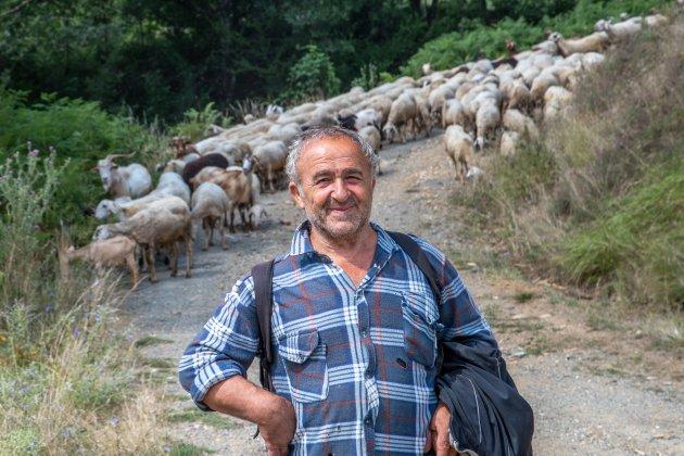 Een trotse herder